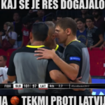 Kaj se je res dogajalo na tekmi proti Latviji