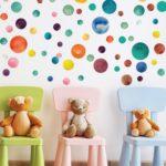 Dekorativne in zabavne otroške stenske nalepke