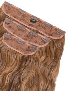 Clip on lasni podaljški se enostavno in hitro namestijo na naše obstoječe lase