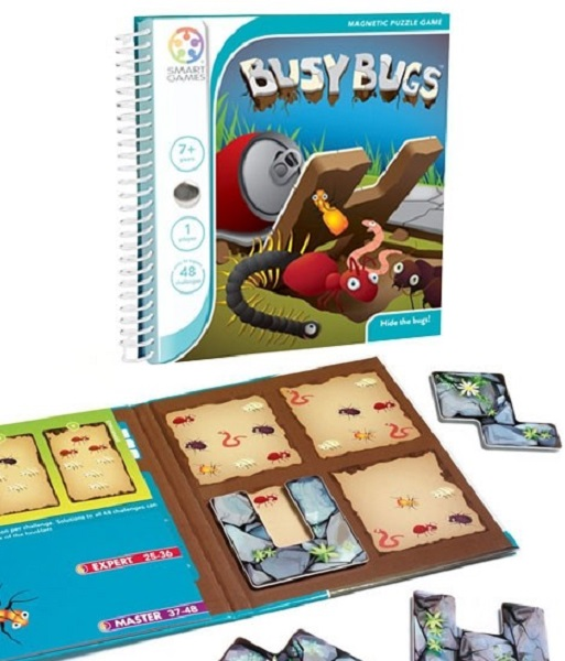 Smart Games - miselna igra Zaposlene žuželke