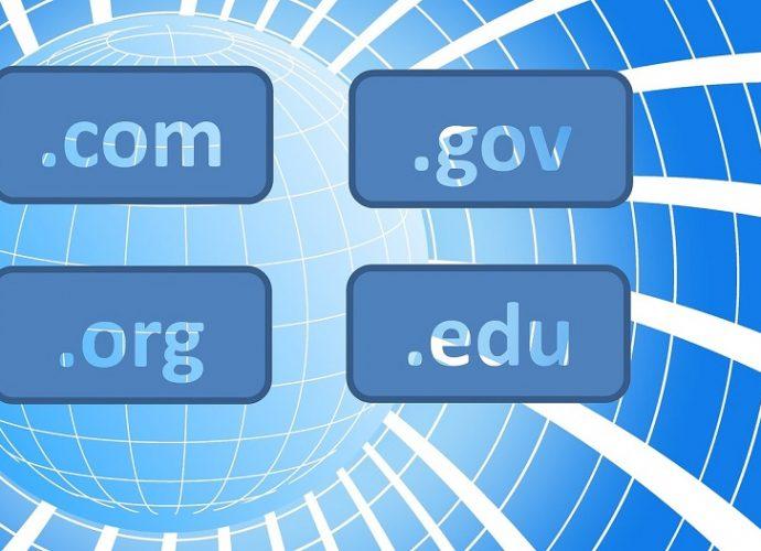 Nakup domene različnih domenskih končnic